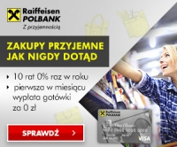 Raiffeisen Polbank Bilety do Multikina Wygodna Karta Kredytowa Visa